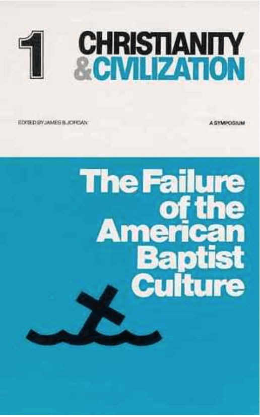2015-06-10 The Failure of the American Baptist Culture