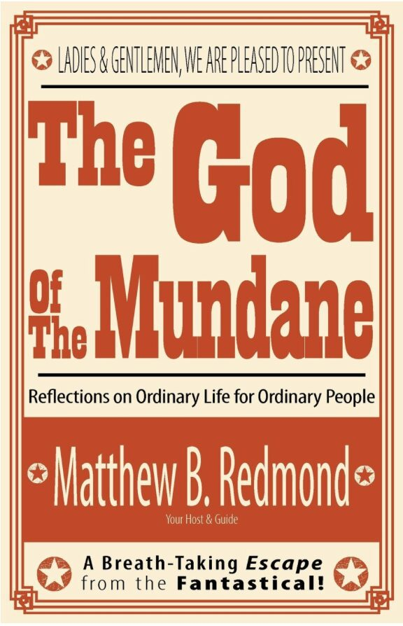 2015-11-12 The God of the Mundane cover