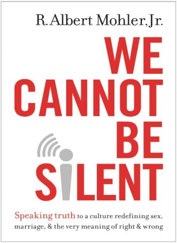 2016-02-28 Mohler's book We Cannot Be silent