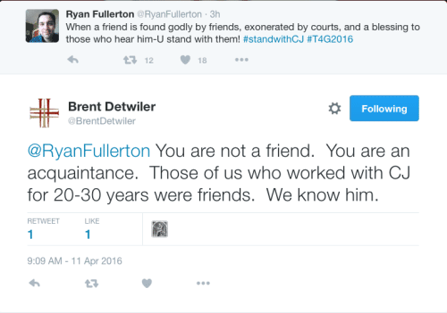 Detwiler responds to Fullerton