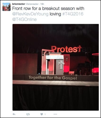 2016-04-14 front row seats at T4G