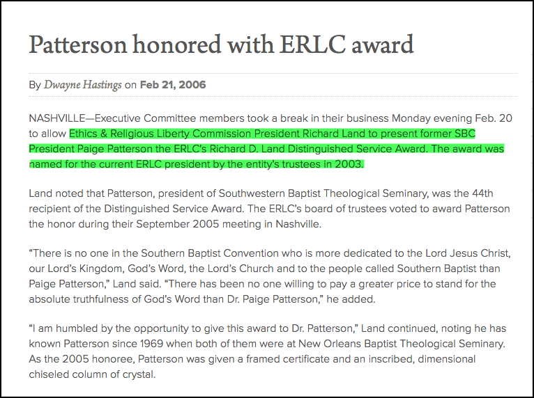 2016-10-17-paige-patterson-awarded-by-land-with-award-named-after-him