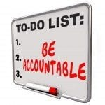 be accountable